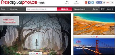 Site Free Digital Photos com imagens grátis