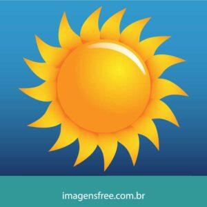 ilustracao de sol vetor