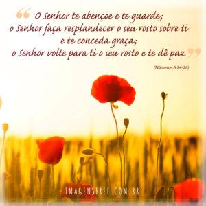 Versículo para Dia das Mães - Números 6:24 - 26