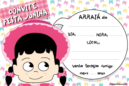Convite Para Festa Junina Imagens Free