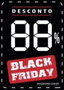 cartaz black friday vetor