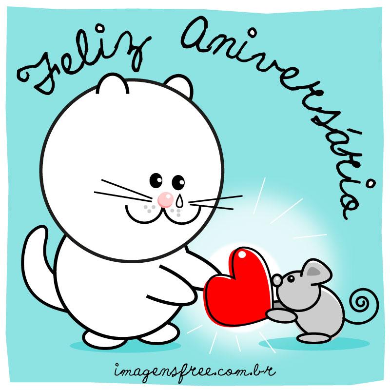 Excepcional FELIZ ANIVERSÁRIO AMIGA! Envie um cartão virtual para sua amiga TL71