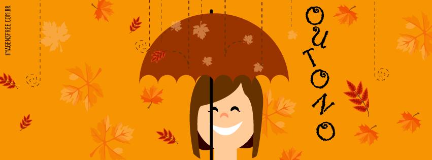 imagem de outono para capa do facebook
