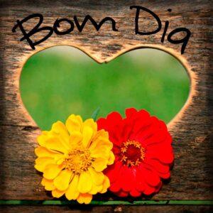 Frase De Bom Dia Com Coração Imagem Grátis