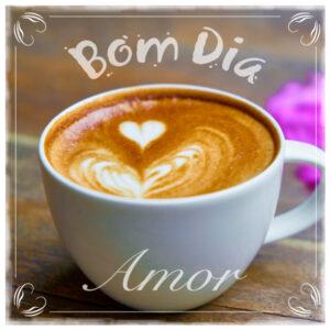 frases de bom dia com xícara de café