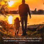 versículos para o dia dos pais
