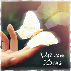 Foto luto com imagem de mão e borboleta.