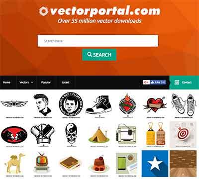 vector portal gratis para você baixar imagens vetoriais