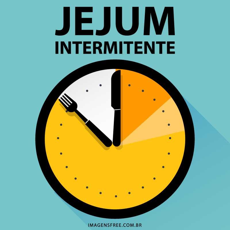Imagem de relógio sobre Jejum Intermitente
