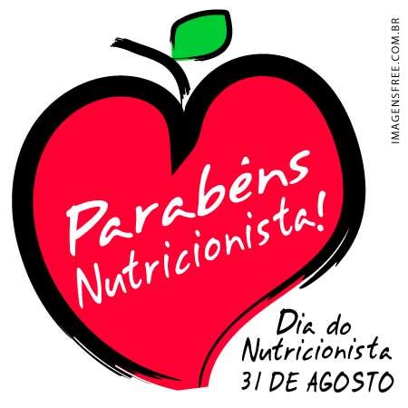 Dia do Nutricionista 31 de agosto