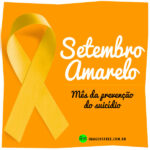 Setembro Amarelo campanha Laço Amarelo