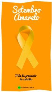Campanha do Laço Amarelo Setembro Amarelo