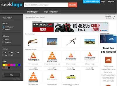 Baixe logomarca da universidade Anhanguera no site