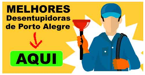 Desentupidoras em Porto Alegre - Lista com as melhores de Porto Alegre. Telefone, email e whatsApp