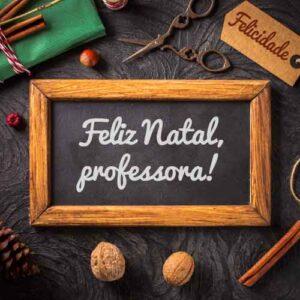 mensagem de natal para professora com foto do site Freepik