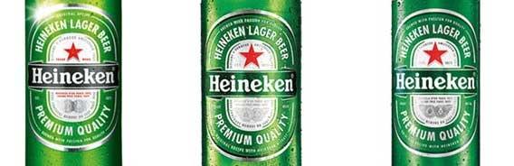 Logotipo Heineken rótulo