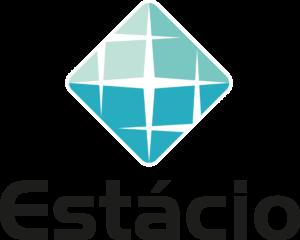 Logotipo Estácio vertical PNG