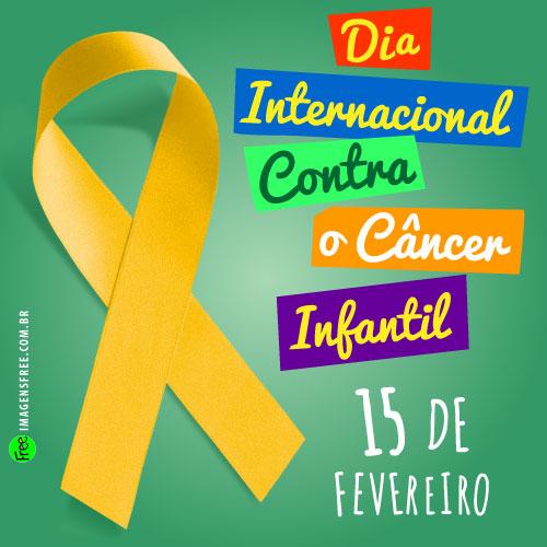 Dia Internacional da Luta Contra o Câncer Infantil