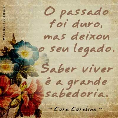Cora Coralina - Versos