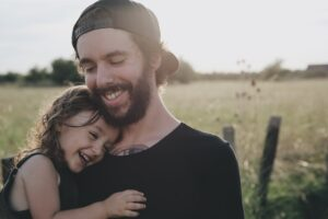 foto dia dos pais com pai e menina
