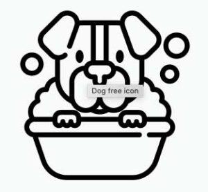 ícone banho e tosa