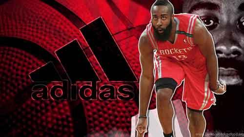 Wallpaper com imagens 4k da Adidas de jogador de basquete