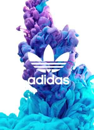 Plano de Fundo Adidas para celular com logotipo da Adidas e fundo com textura