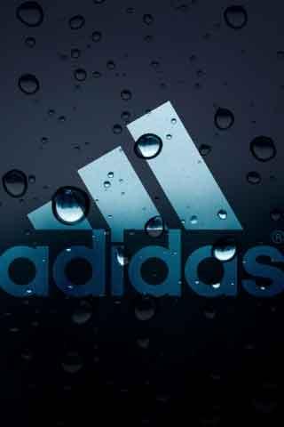 Plano de fundo Adidas com o logotipo