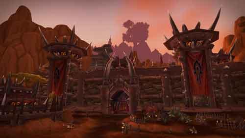 Cenário do game World of Warcraft para Wallpaper