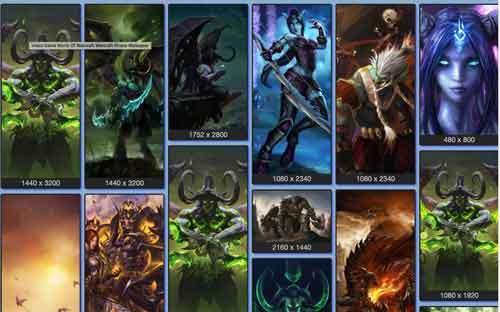 Wallpaper Warcraft para celular