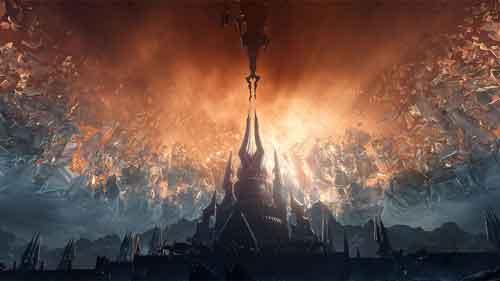 Cenários do World of Warcraft para wallpaper