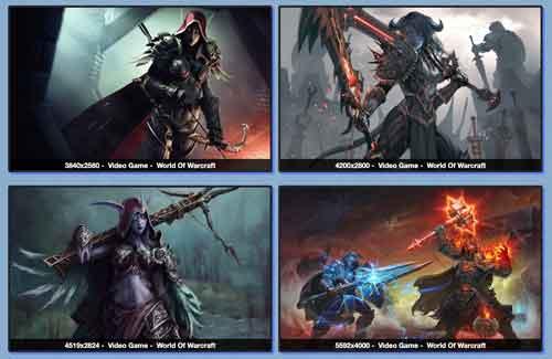 Warcraft wallpaper 4k do site Wall Alphacorder