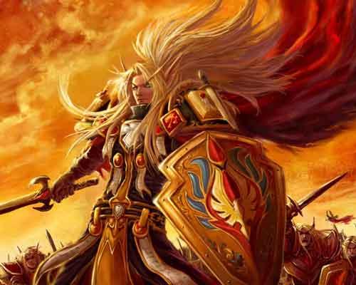 Wallpaper Paladino Warcraft
